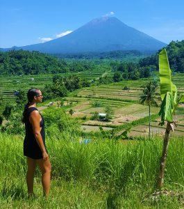 Výhled na Mt. Agung