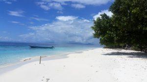 Pláž Raja Ampat