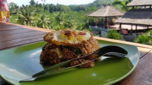 Smažená rýže na Bali