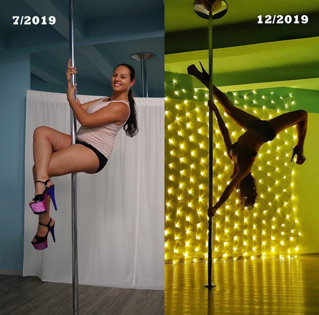 Poledance progress v Trendigu