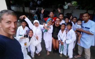 Já, Michal a děti ze Sumbawy